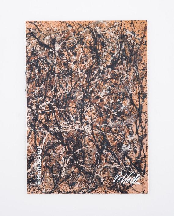 Купить скетчбук А5 Pollock 1950 с картиной «One: Number 31»
