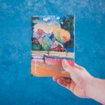Купить блокнот для записей  А5 Kandynsky 1908 с картиной «Вид Мурнау»