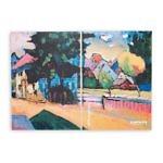 Купить sketchbook А5 Kandynsky 1908 с картиной «Вид Мурнау»