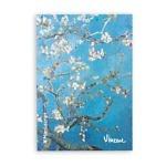 Купить скетчбук А5 Van Gogh 1890 с картиной «Цветущие ветки миндаля»