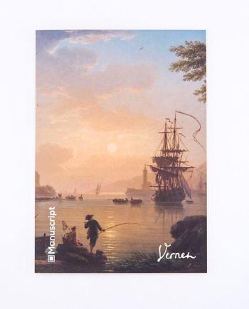 Купить скетчбук А5 Vernet 1773 с картиной «Пейзаж на закате»