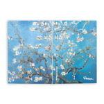 Купить sketchbook А5 Van Gogh 1890 с картиной «Цветущие ветки миндаля»