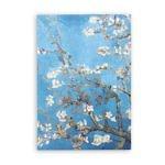 Заказать скетчбук А5 Van Gogh 1890 с картиной «Цветущие ветки миндаля»