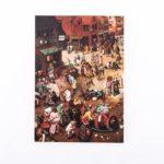 Заказать скетчбук А5 Bruegel 1559 с картиной «Битва Масленицы и Поста»