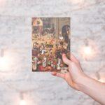 Купить блокнот для записей  А5 Bruegel 1559 с картиной «Битва Масленицы и Поста»