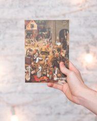 Cкетчбук А5. Автор: Питер Брейгель Старший; Картина: «Het gevecht tussen Carnaval en Vastentijd»