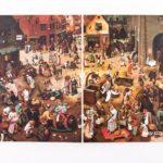 Купить sketchbook А5 Bruegel 1559 с картиной «Битва Масленицы и Поста»