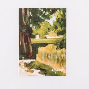 Купить скетчбук А5 Cezanne 1874 с картиной «Авеню в Жа де Буффан»